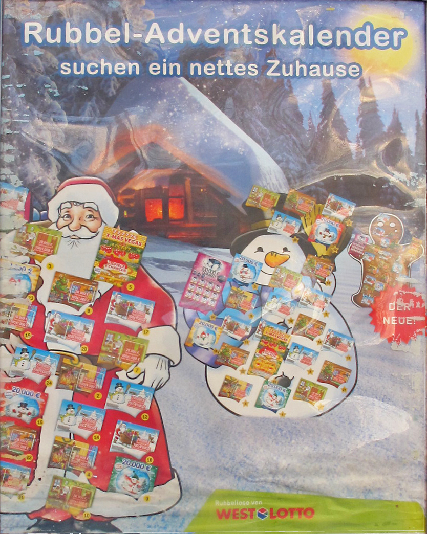 lotto adventskalender 2015