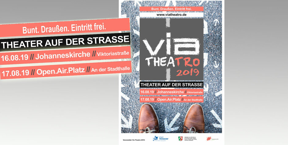 16. + 17.08.2019 via Theatro - Straßentheater