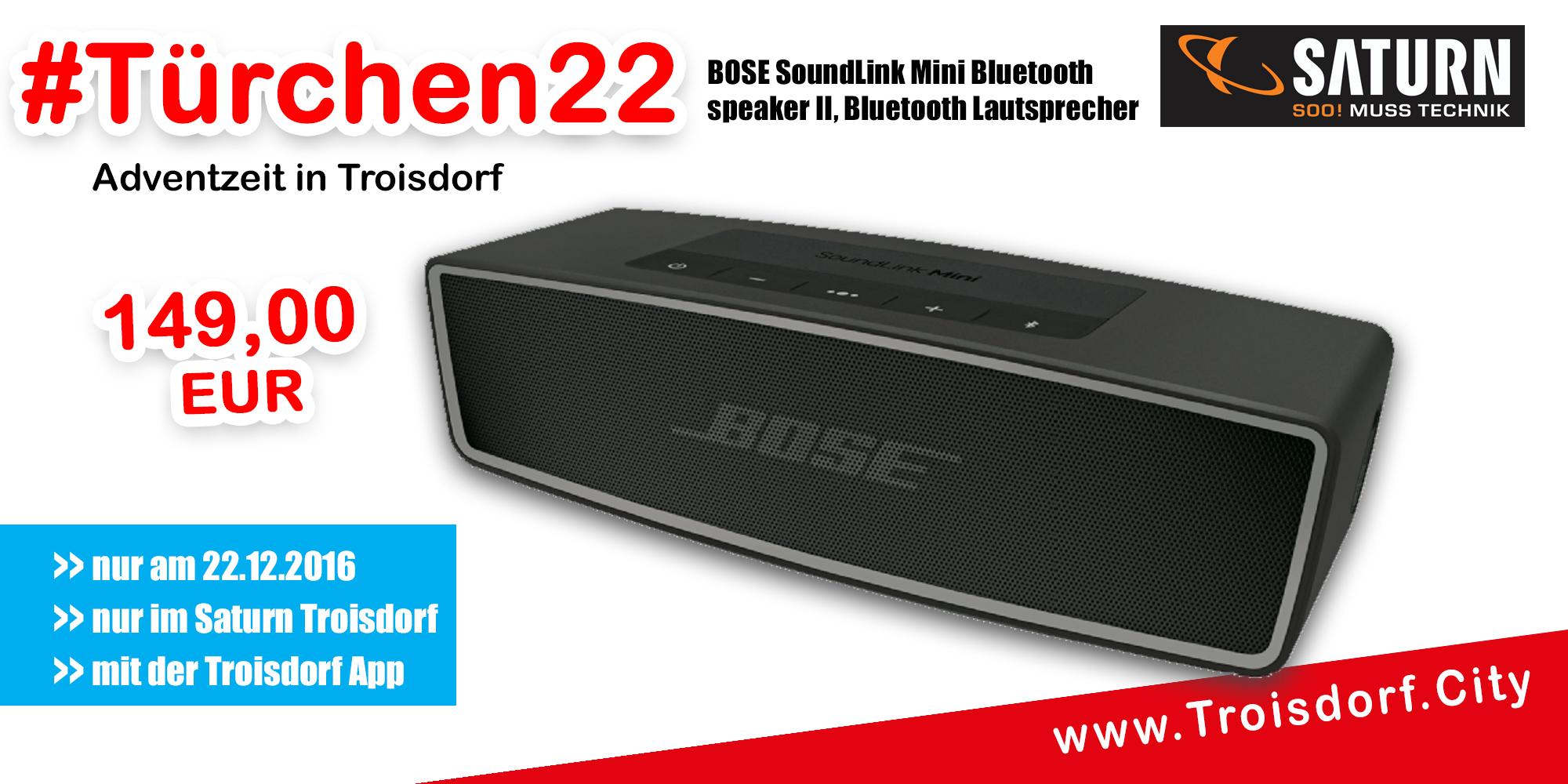 Troisdorf City Trchen 22 Saturn Fr 149eur Bose Soundlink Mini Bluetooth Speaker Ii Bose1