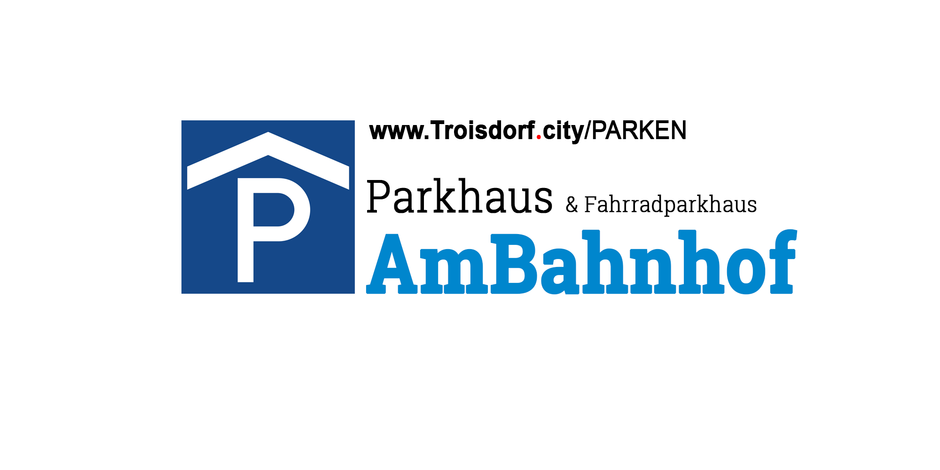 troisdorf city parkhaus fahrradparkhaus am bahnhof troisdorf. Black Bedroom Furniture Sets. Home Design Ideas