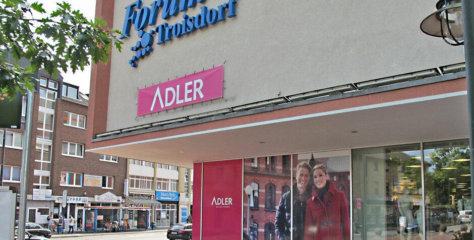 Troisdorf City   Adler Deutschland Adler Modemärkte AG