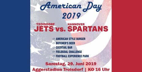 2. American Day - Troisdorf Jets vs. Hannover Spartans