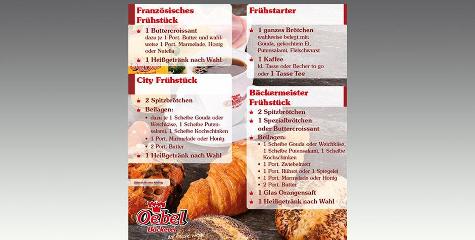 Troisdorf City Frühstücksangebote Von Oebel Bäckerei Oebel In