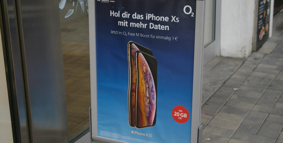 Das iPhone Xs bei Base