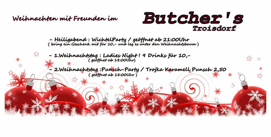 Troisdorf City   Die Weihnachtstage im Butchers   Butchers Musik and ...