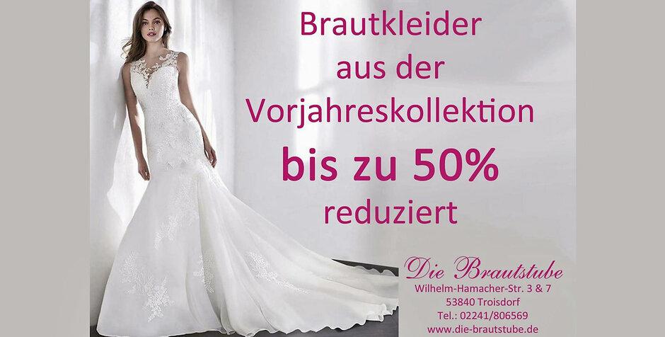 Troisdorf City | Brautkleider in großer Auswahl | Die Brautstube GmbH