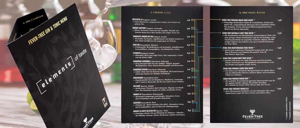 Troisdorf City Neue Gin Karte Bei Elements Of Taste Elements