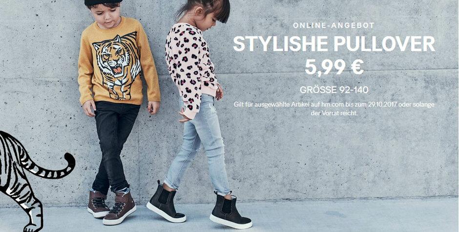 size 40 0d24d cb3c0 Troisdorf City | Stylische Pullover für Kids | H&M Hennes ...