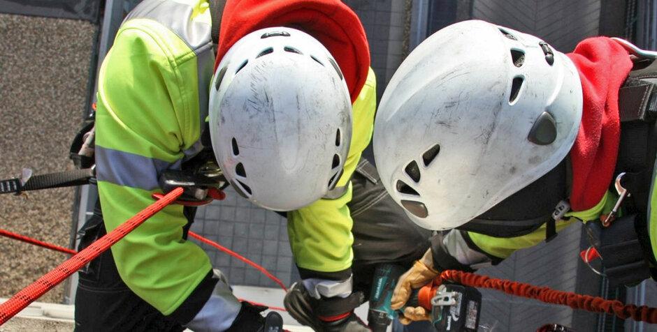 Kletterausrüstung Bonn : Troisdorf city industriekletterer bonn gmbh