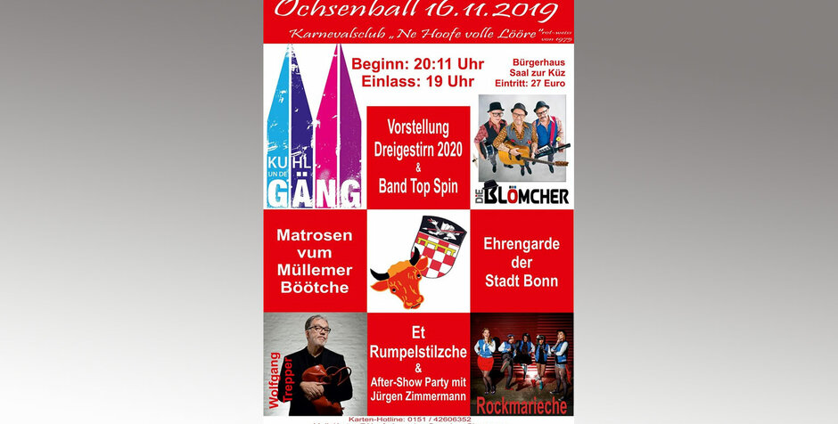 Save the date: Ochsenball 2019