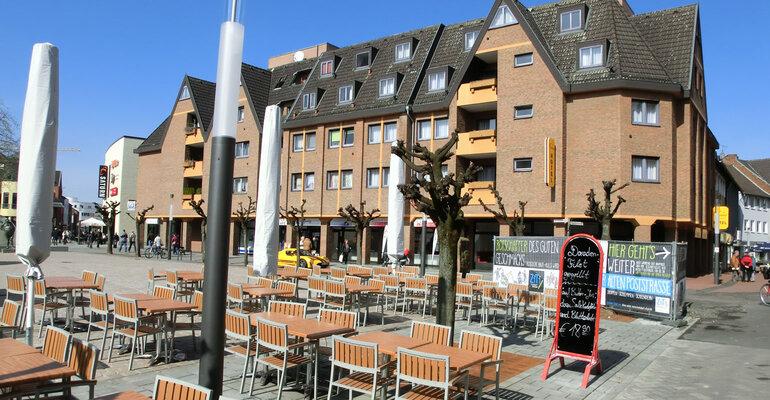 troisdorf city blick vom fischerplatz aktuelle impressionen montana hotel k ln bonn. Black Bedroom Furniture Sets. Home Design Ideas
