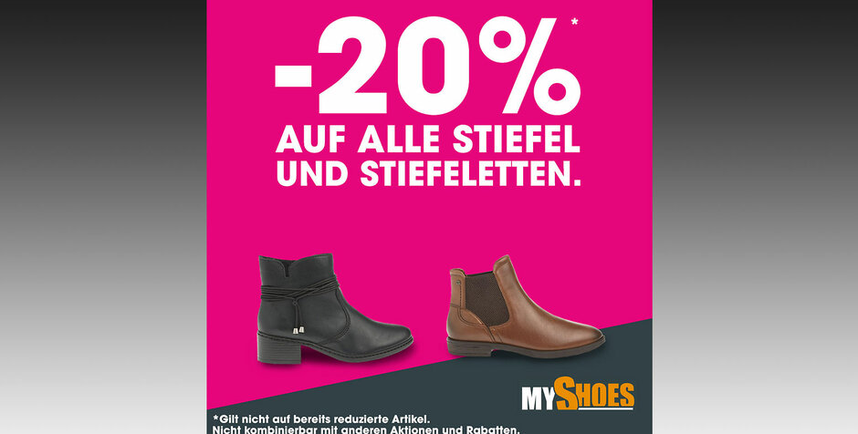 Rabattaktion bei myshoes