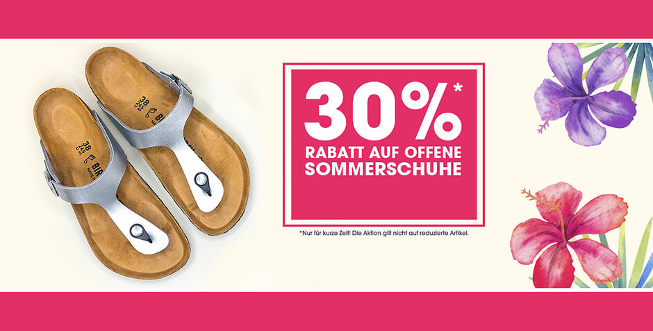 Sommer-Sale bei myshoes