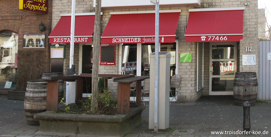 troisdorf city restaurant schneider junior. Black Bedroom Furniture Sets. Home Design Ideas