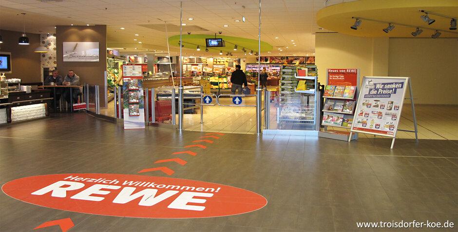 Troisdorf City   REWE Supermarkt