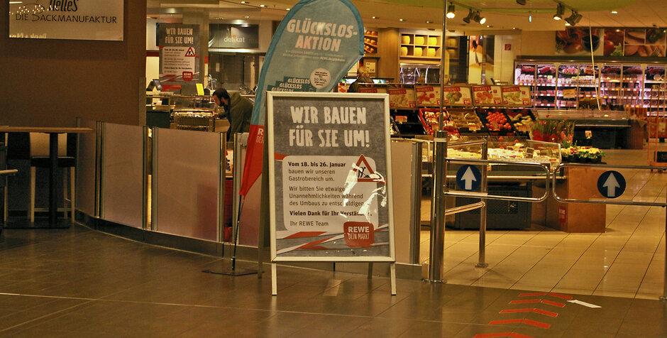Troisdorf City   Rewe baut um   REWE Supermarkt