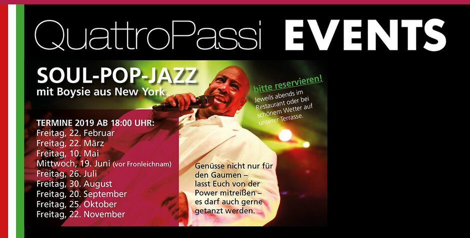 Soul-Pop-Jazz mit Boysie