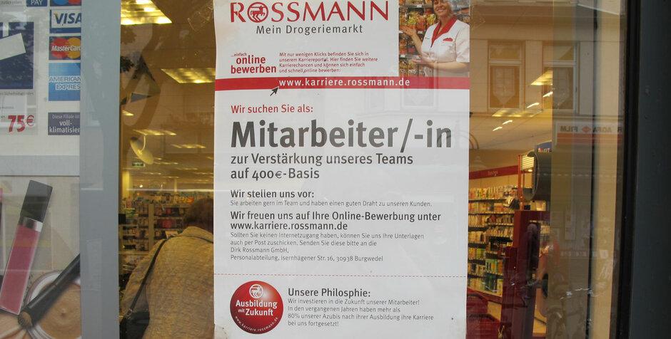 rossmann sucht mitarbeiter - Rossmann Bewerbung Online