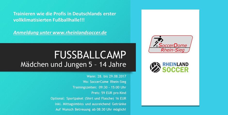 Troisdorf City   Sommerferien-KurzCamp im SoccerDome ...
