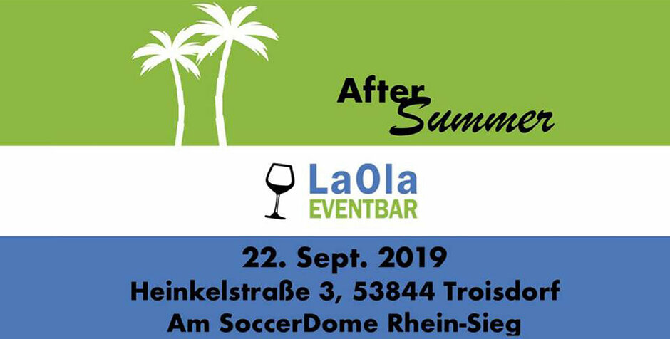 After Summer Party in der LaOla Eventbar