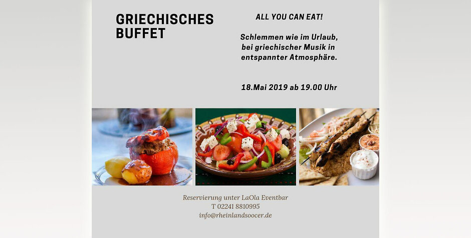 Traditionelles griechisches Buffet